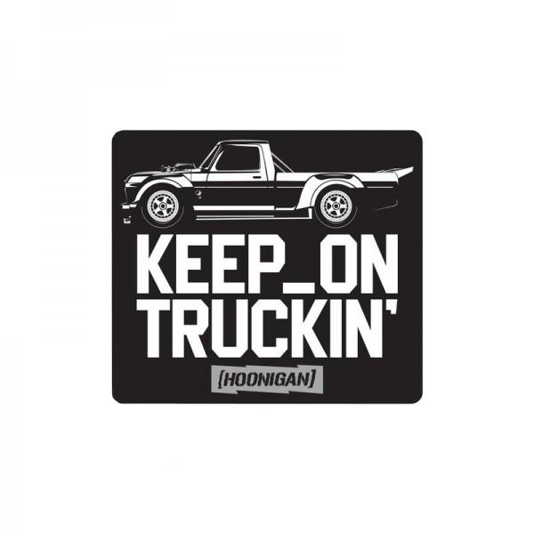 "Hoonigan ""Keep on Truckin"" Sticker"