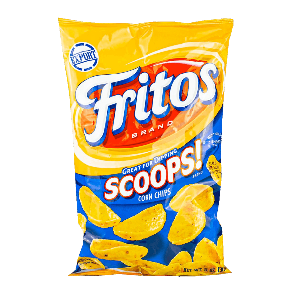 Fritos Scoops 312g - MHD 31.10.2021
