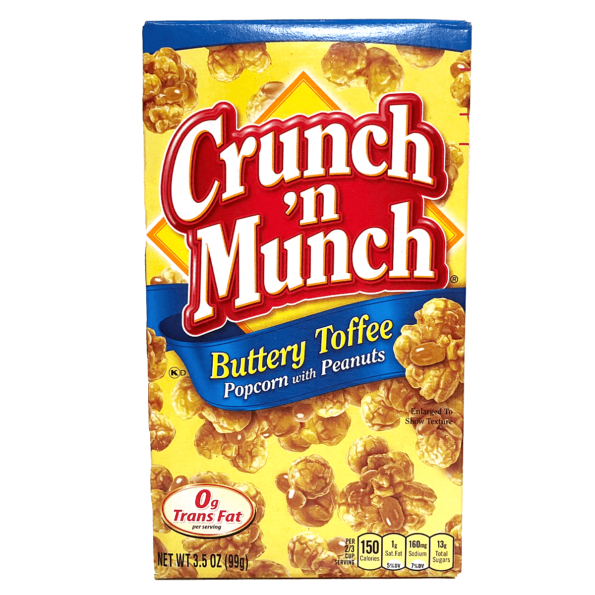 Crunch ´n Munch Buttery Toffee Popcorn with Peanuts 99g