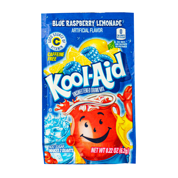 Kool-Aid Blue Raspberry 6,2g