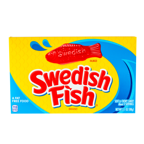 Swedish Fish Soft & Chewy Candy 88g