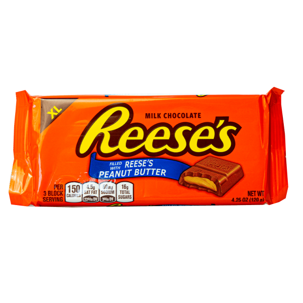 Reese´s Milk Chocolate filled with Reese´s Peanut Butter 120g