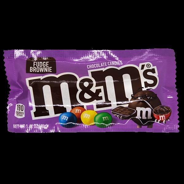 M&M´s Fudge Brownie 40g