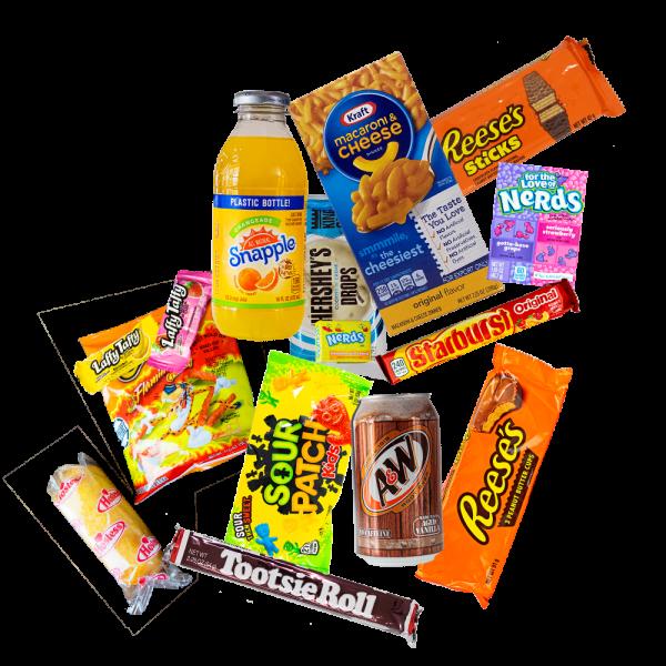 US Candy Starter Box