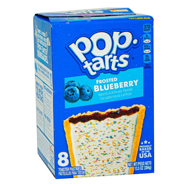 Pop Tarts Frosted Blueberry 8er Pack 384g