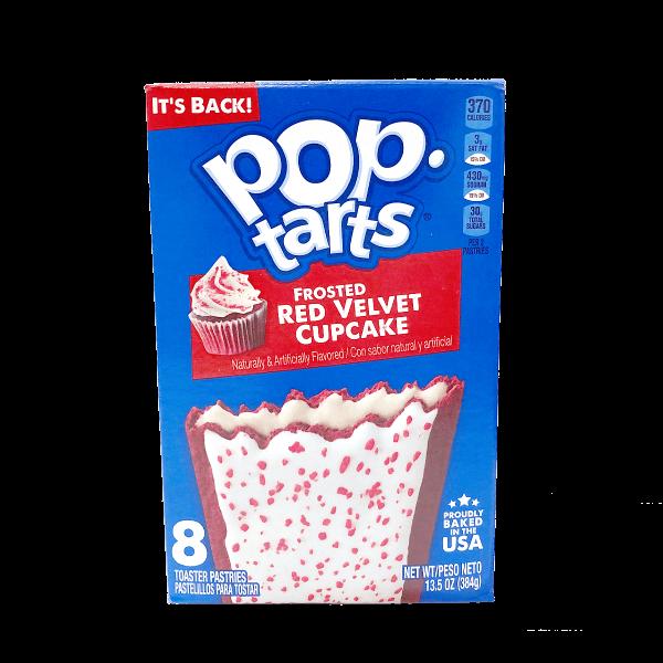Pop Tarts Frosted Red Velvet Cupcake 8er Pack 384g