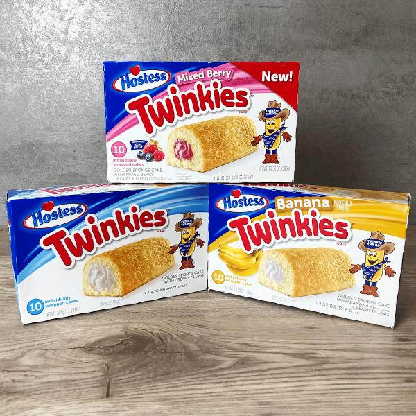 US Candy Twinkies Box