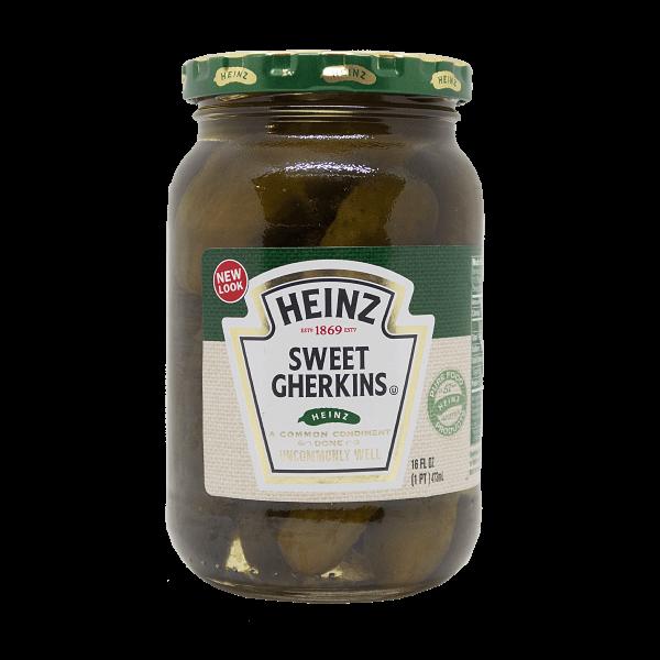Heinz Sweet Gherkins 375ml