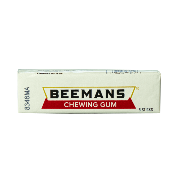 Beemans Chewing Gum 5 Sticks