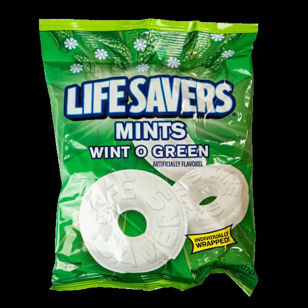Life Savers Mints Wint O Green 177g