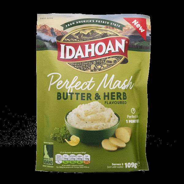 Idahoan Perfect Mash Butter & Herb 109g