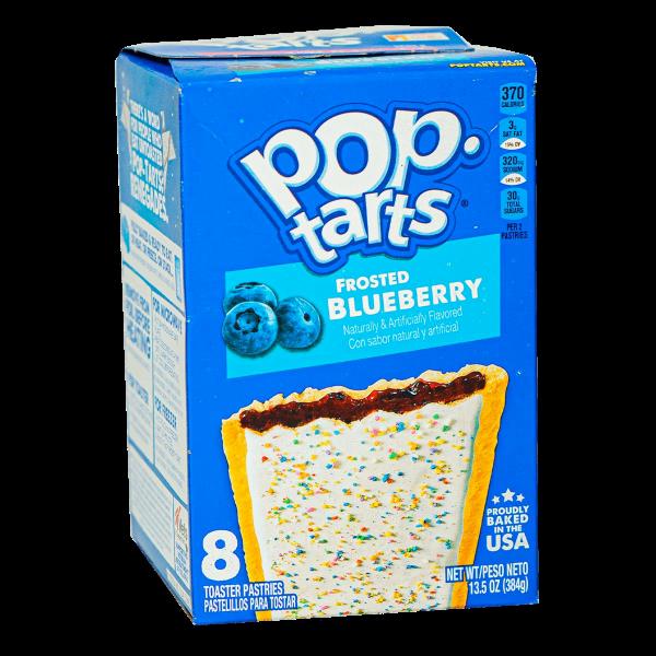 Pop Tarts Frosted Blueberry 8er Pack 384g