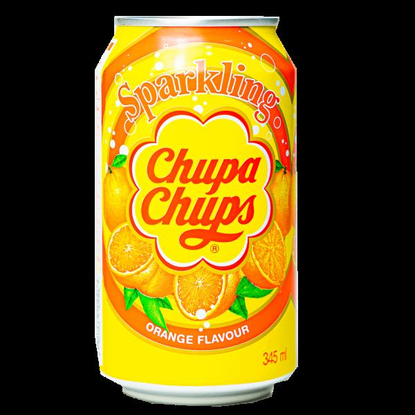 Chupa Chups Sparkling Orange 345 ml