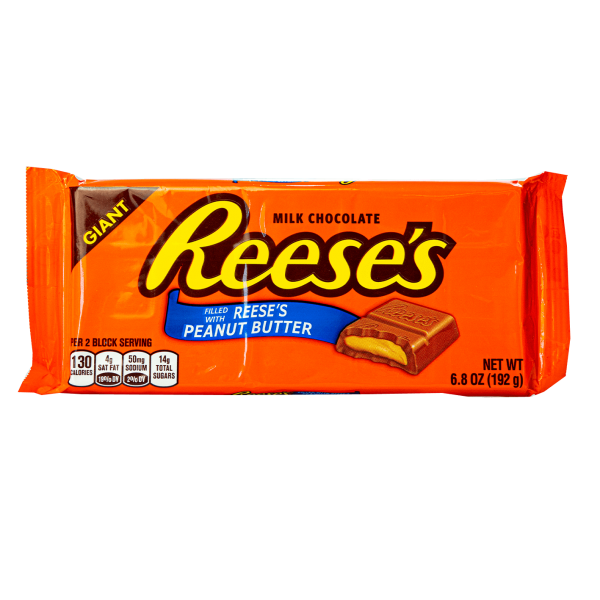 Reese´s Milk Chocolate filled with Reese´s Peanut Butter 192g