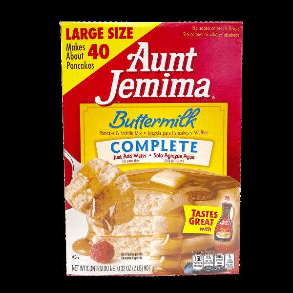 Aunt Jemima Pancake Mix Buttermilk Complete 907g - MHD 25.10.2021