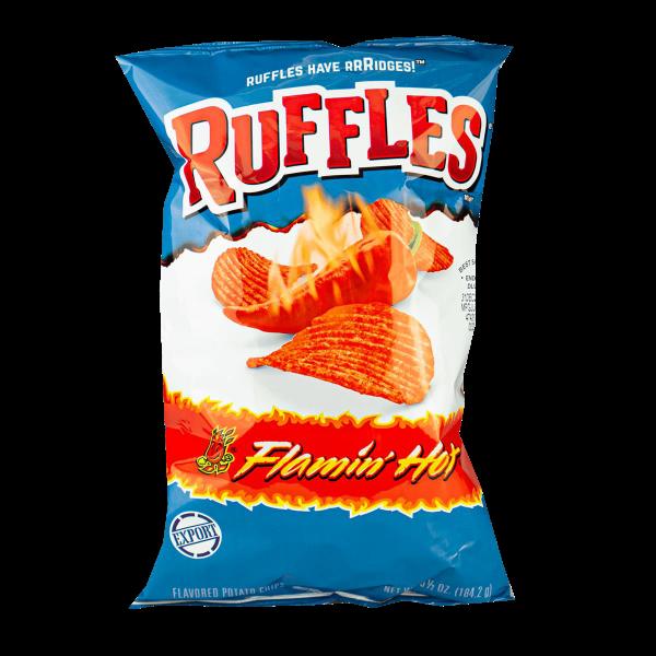 Ruffles Flamin' Hot Potato Chips 184g